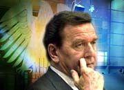 Geht sein Wahlsieg zu Lasten der Telekom? Gerhard Schröders Haltung in der Irak-Frage missfällt einigen US-Politikern