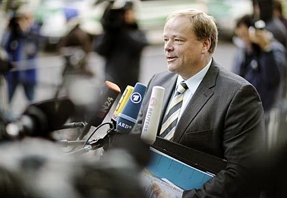 Wollen Steuersenkungen erreichen: FDP-Generalsekretär Dirk Niebel tritt für geringere Abgaben ein