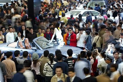 China boomt:Automesse in Shanghai