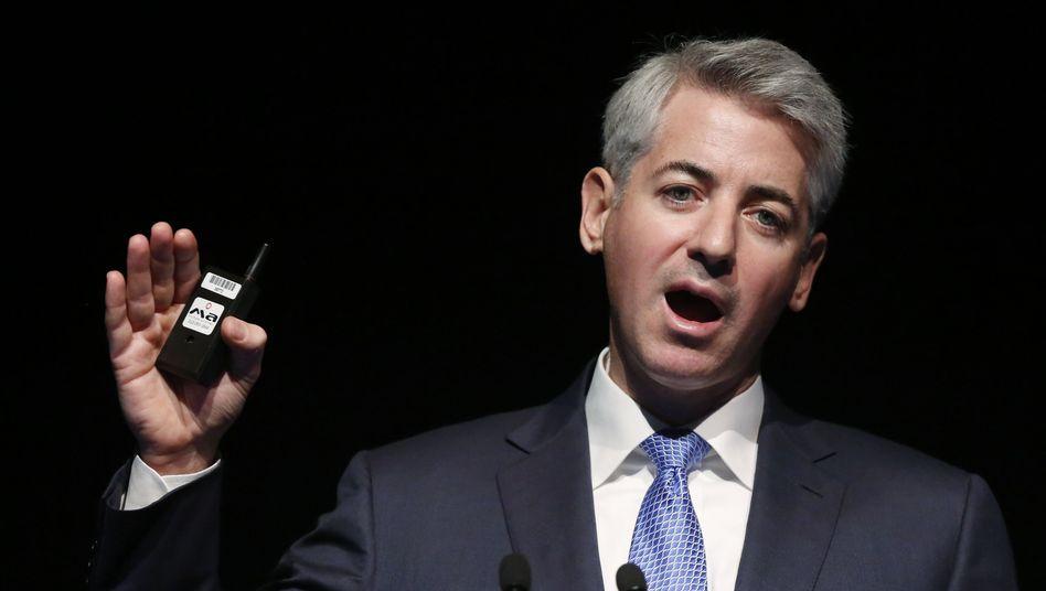 Realisiert drei Milliarden Dollar Verlust: Hedgefonds-Gründer Bill Ackman