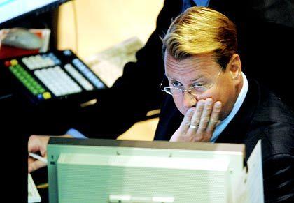 """""""Das Beste an 2008 ist, dass es vorbei ist"""": Händler an der Wall Street in New York"""