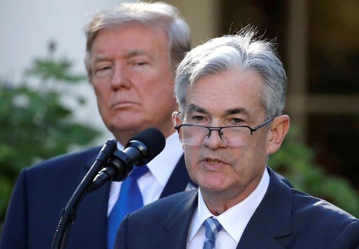 Fed-Chef Jerome Powell: Der Druck, die Zinsen in den USA deutlich zu senken, ist seit der Zinsentscheidung der EZB gestiegen