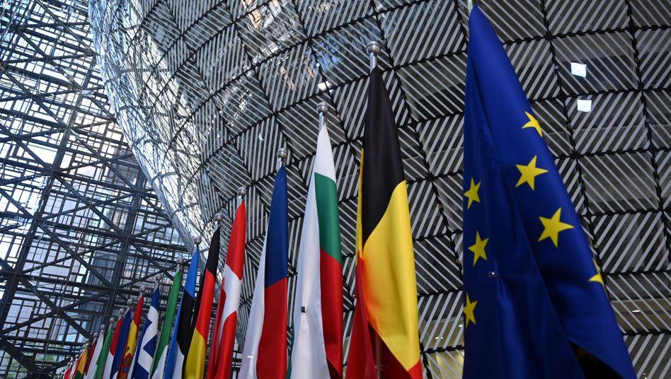 EU-Kommissionsgebäude in Brüssel: Mini-Budget statt großer Wurf