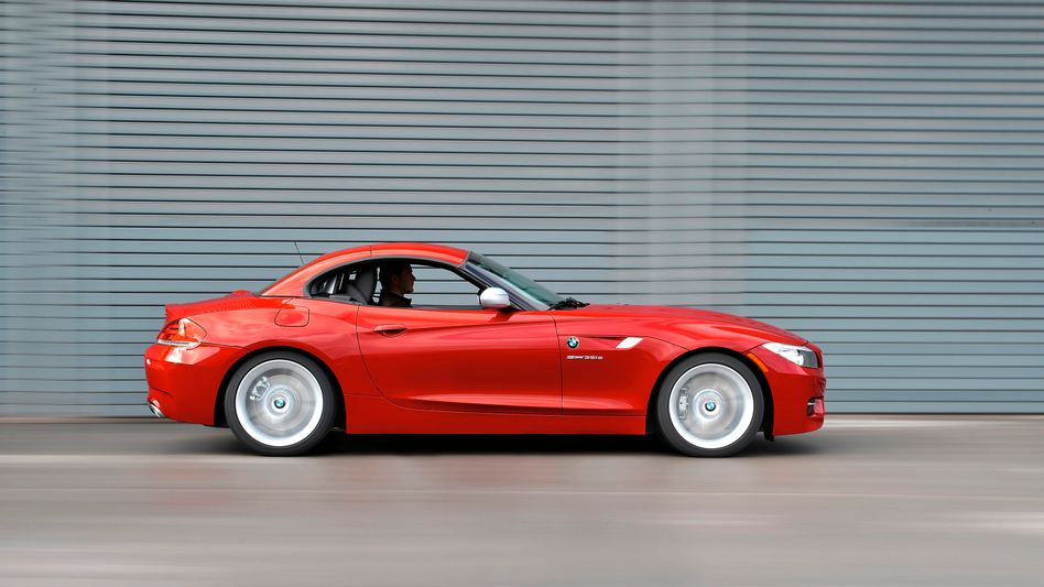 BMW Z4 35is: Deutsche Luxuswagen sind international gefragt. Die höchsten Wachstumsraten erzielen die Premiumhersteller Audi, BMW und Daimler nach wie vor in China