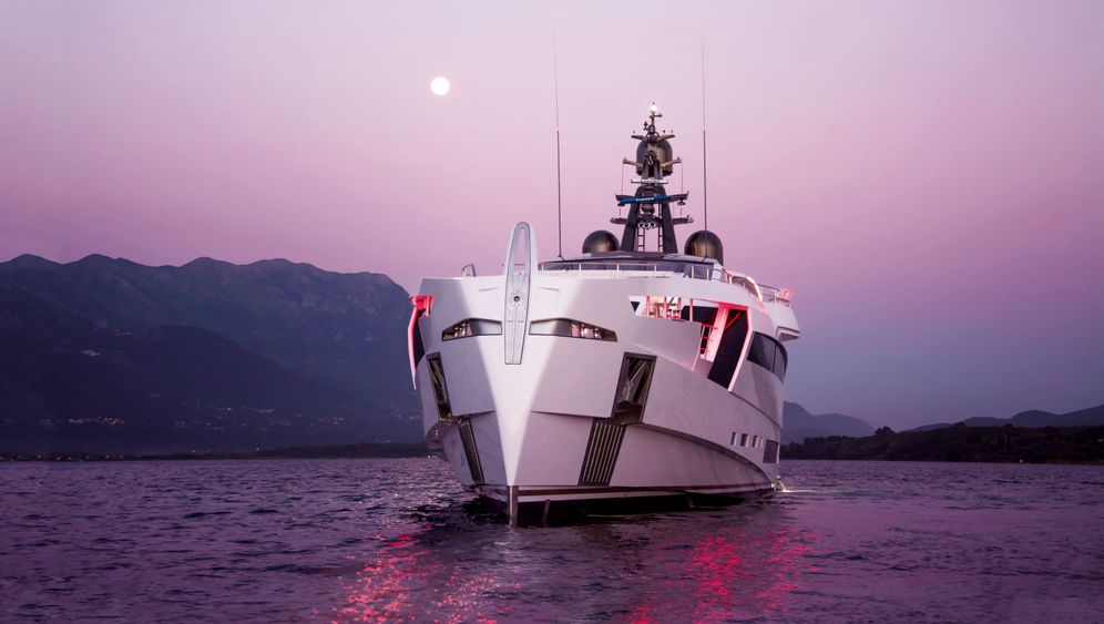 """Yacht """"Aurora"""": Ein Schiff wie die Rüstung von Iron Man"""