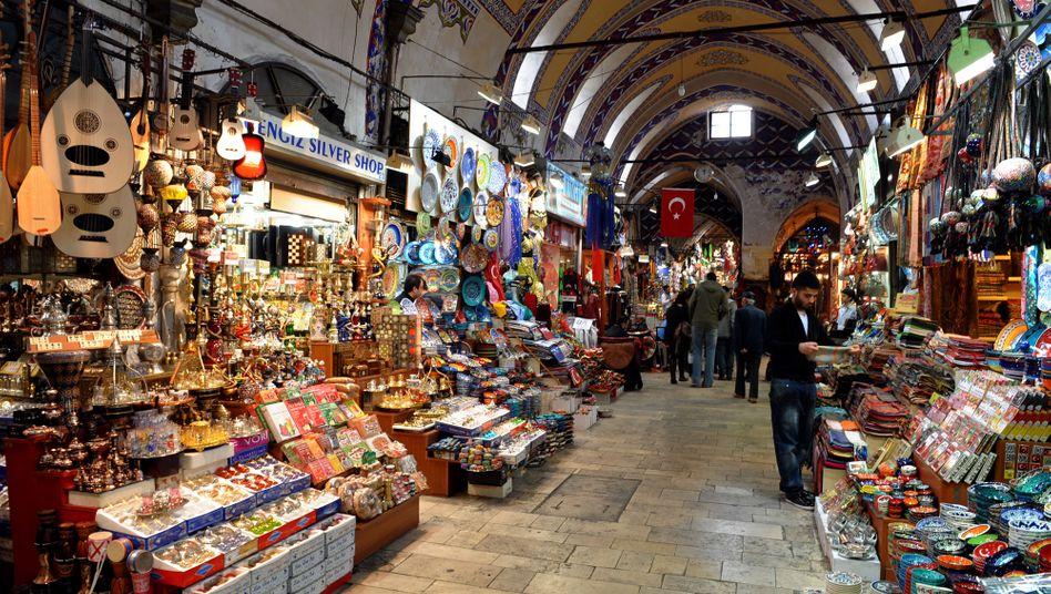 Der große Basar in Istanbul: Härter verhandelt? Wird vermutlich nirgends