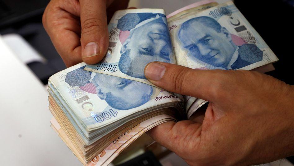 Geldwechsler in Istanbul
