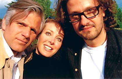 Kreative Köpfe der Kampagne: Michael Trautmann von der Werbeagentur Kempertrautmann, Regisseurin Clarissa Ruge und Jung-von-Matt-Geschäftsführer Oliver Voss