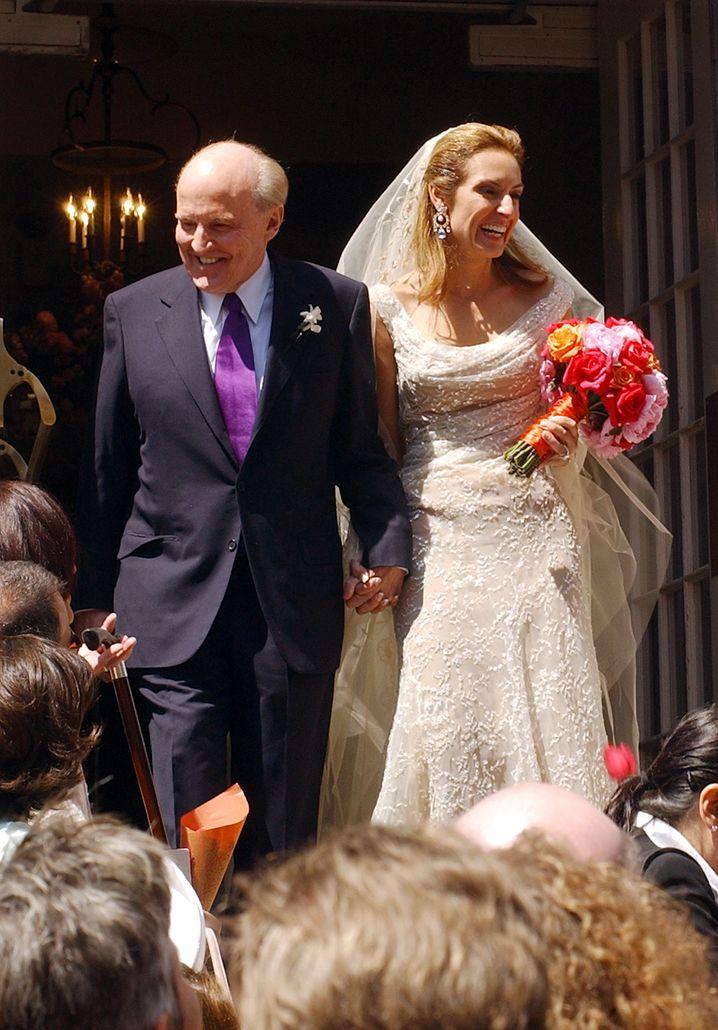 Hochzeit 2004: Jack Welch mit Suzy.