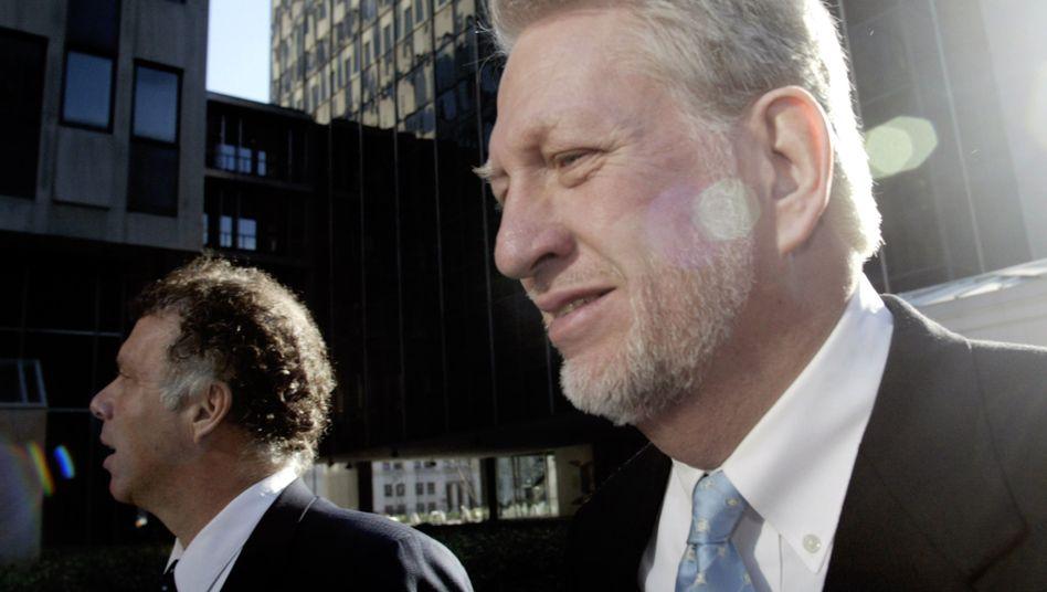 Ex-Worldcom-Chef Bernard Ebbers (Bild Archiv) ist wenige Wochen nach seiner Entlassung aus dem Gefängnis gestorben. Worldcom steht für einen der größten Bilanzfälschungsskandale der USA