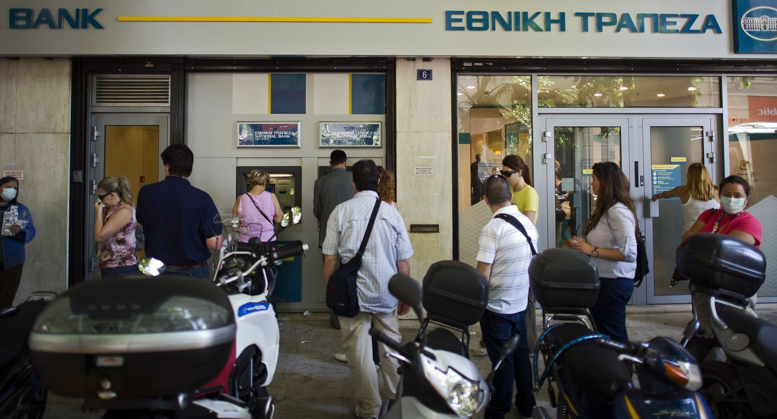 Griechenland/ krise/ Geldautomat