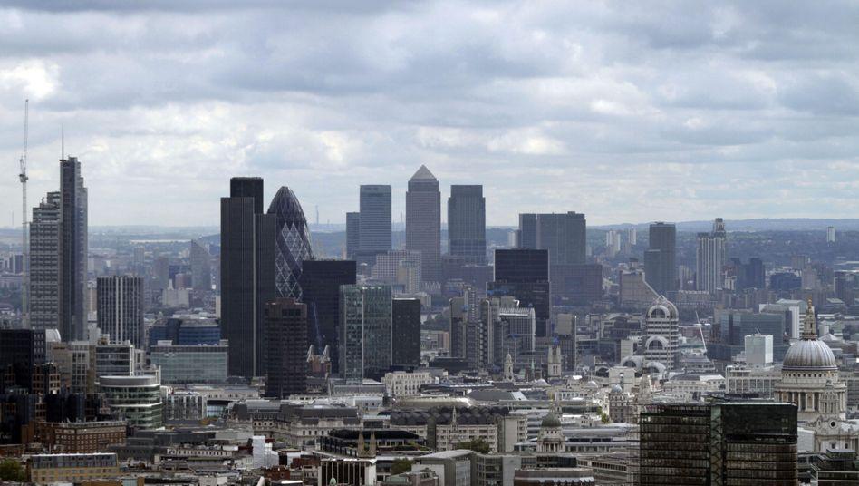 Türme der Macht: Nicht nur im Bankenviertel von London sorgt man sich um den Zustand der europäischen Institute
