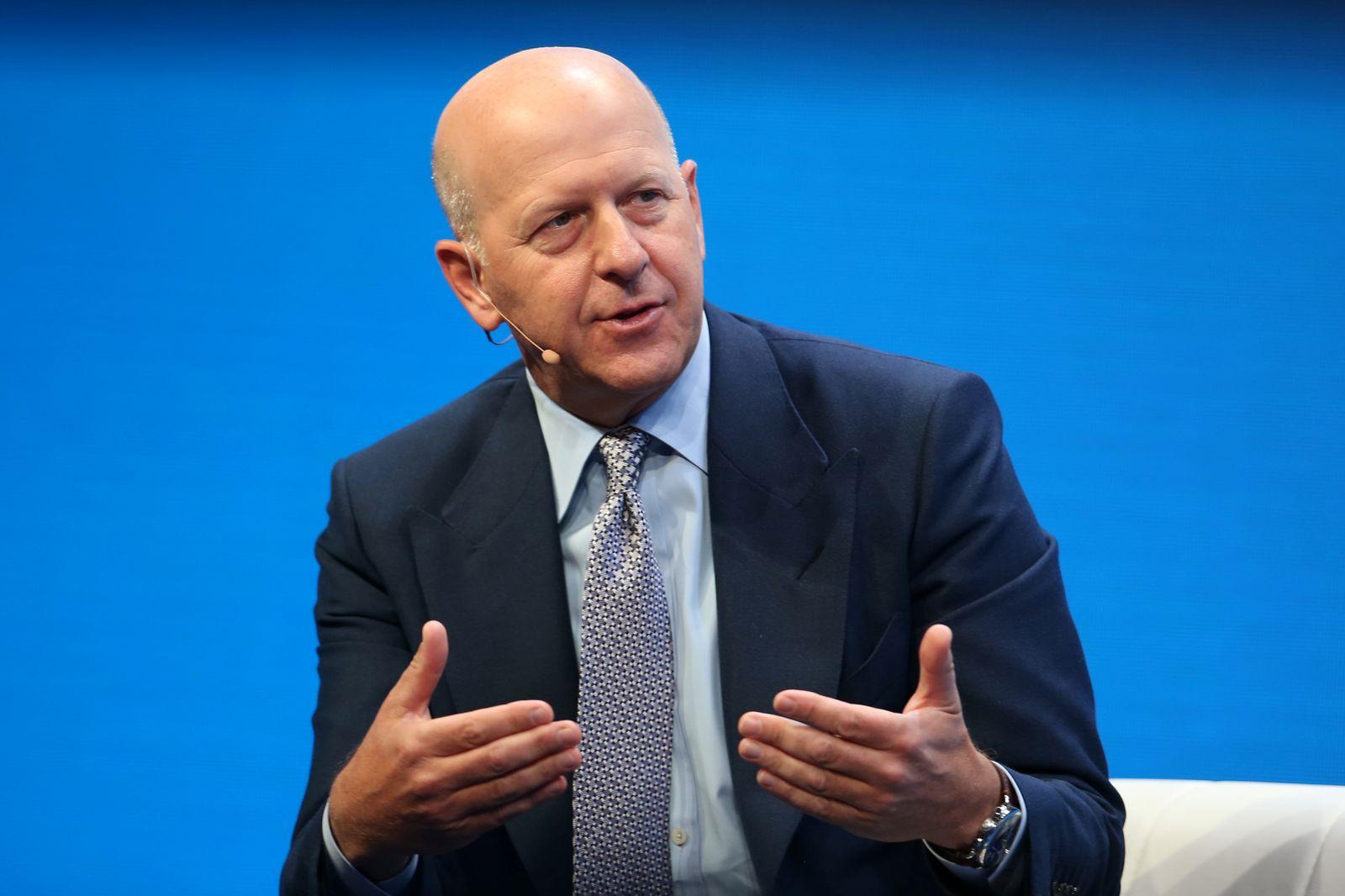 David M. Solomon/ Goldman Sachs