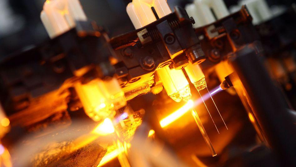 LED-Produktion bei Osram: Zeitweise war die EBITDA-Marge auf 7,3 Prozent abgerutscht. Nun liegt sie wieder bei 16,4 Prozent