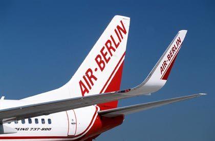 Sanfte Landung: Air Berlin ist 2006 in die Gewinnzone geflogen