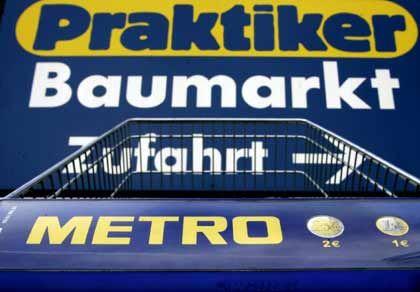 Bescheidener Erlös: Der Börsengang von Praktiker gelang erst, nachdem Metro den Preis reduziert hatte