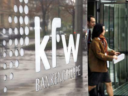 Retter in der Not:KfW-Zentrale in Frankfurt