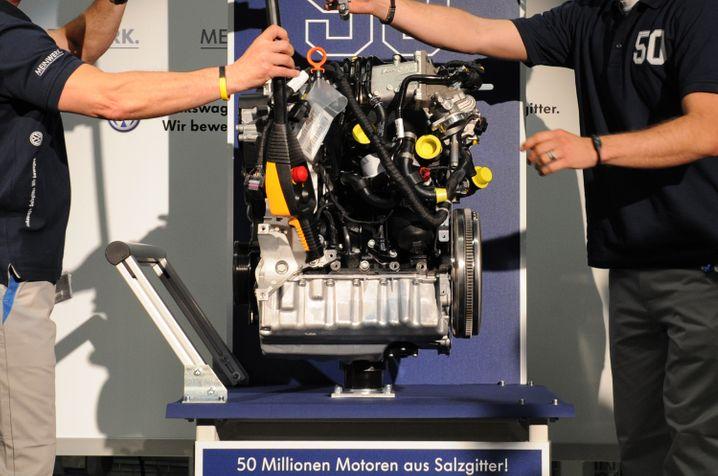 Dieselmotor aus dem Werk Salzgitter: Hier kommen die Aggregate der Krise her