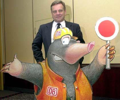 Planvorgaben nicht erfüllt: Hartmut Mehdorn