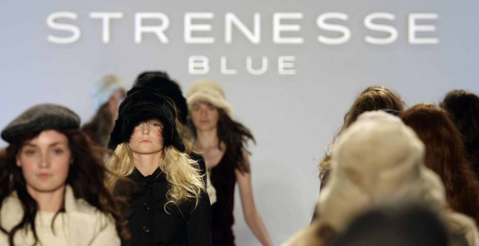 Berliner Fashion Week - Modenschau Strenesse