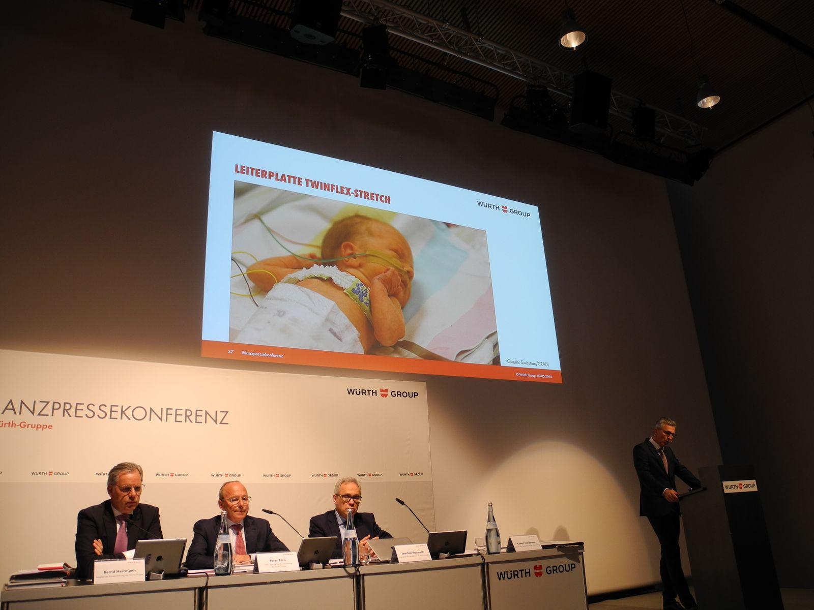 Bilanz-PK Würth / Robert Friedmann