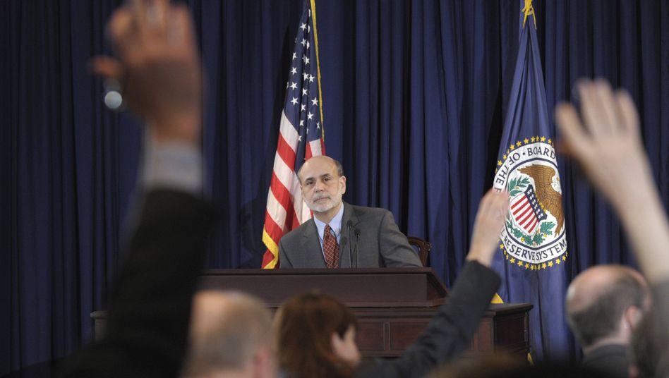 Ben Bernanke, Chef der US-Notenbank Federal Reserve, warnt vor den drastischen Folgen, falls US-Politiker den Streit um die Schuldenobergrenze nicht schnell beilegen