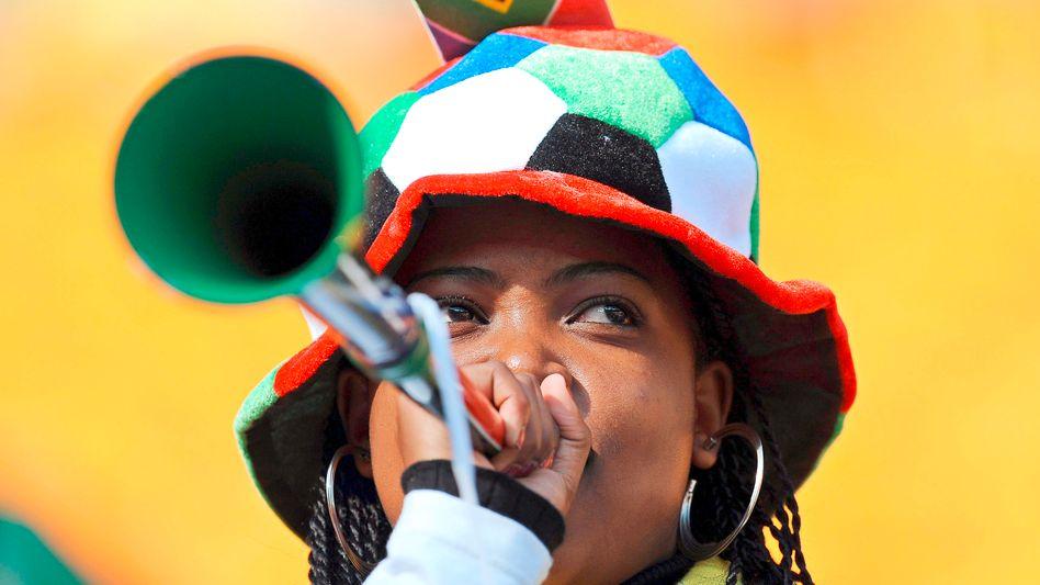Laut und monoton: Forscher entwickeln Anti-Vuvuzela-Programm