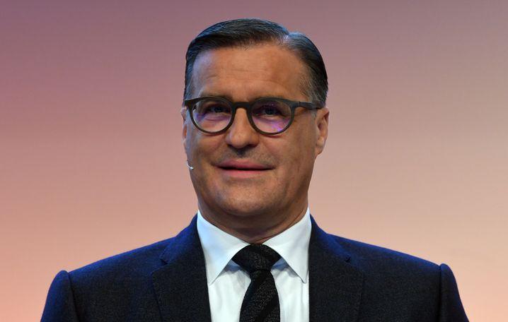 Osram-CEO Olaf Berlien betonte auf der Hauptversammlung die gute Beziehung zum AMS-Vorstandsvorsitzenden