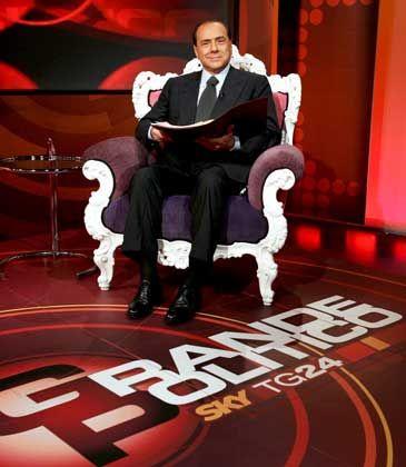Medienzar Berlusconi: Kann nun auch Endemol sein Eigen nennen