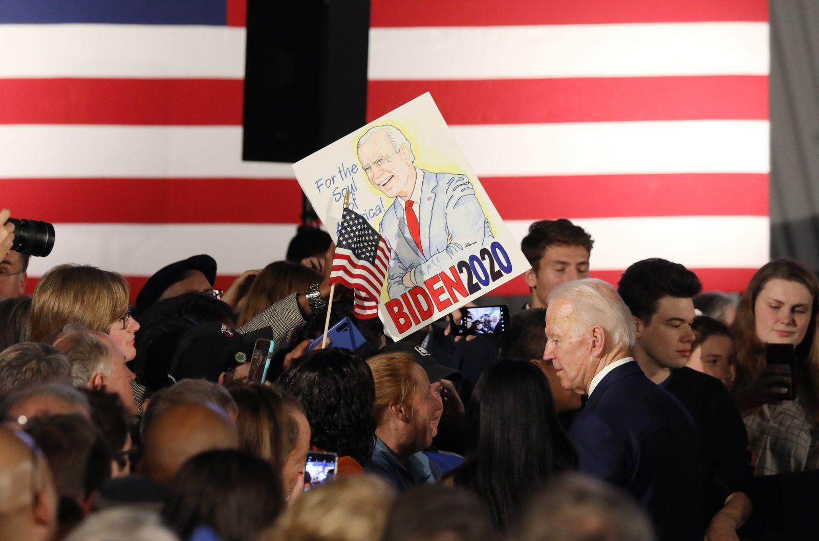 Joe Biden US-Vorwahlen South Carolina
