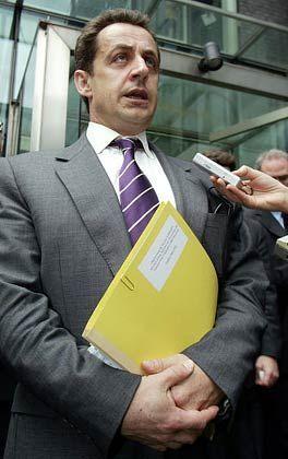 """Superminister Sarkozy: """"Keine Auflösung von Alstom"""""""