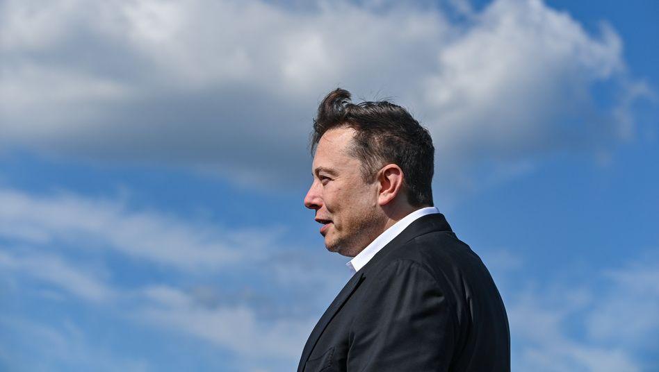 The sky is the limit: US-Unternehmer Elon Musk wird immer reicher