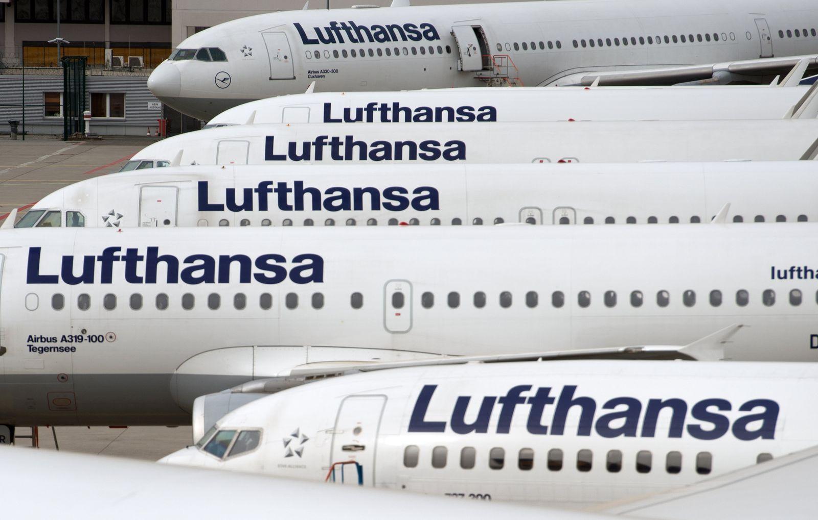 Lufthansa Pilotenstreik - Frankfurt