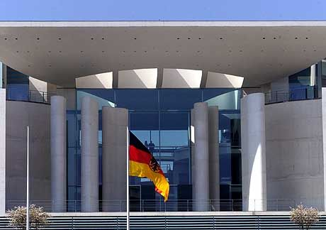 Kanzleramt in Berlin: Post aus Brüssel?