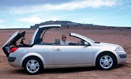 Renault Mégane Cabrio: Stählerner Rivale