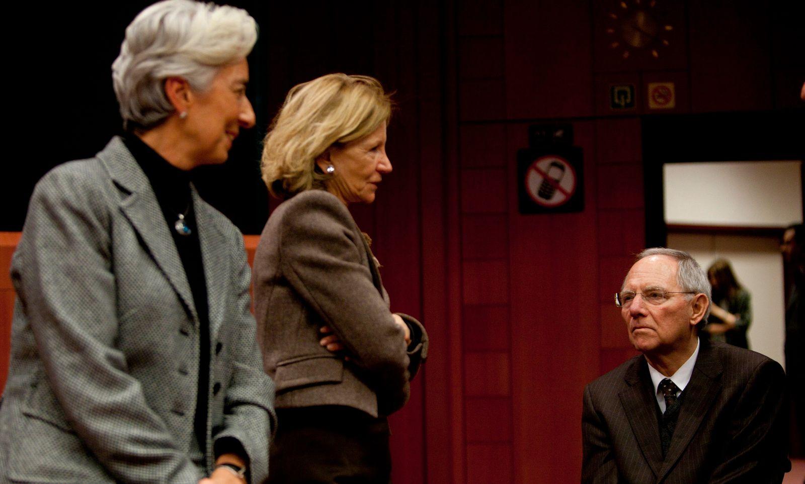 Finance Ministers meeting / Treffen der Finanzminister in Brüssel 2011