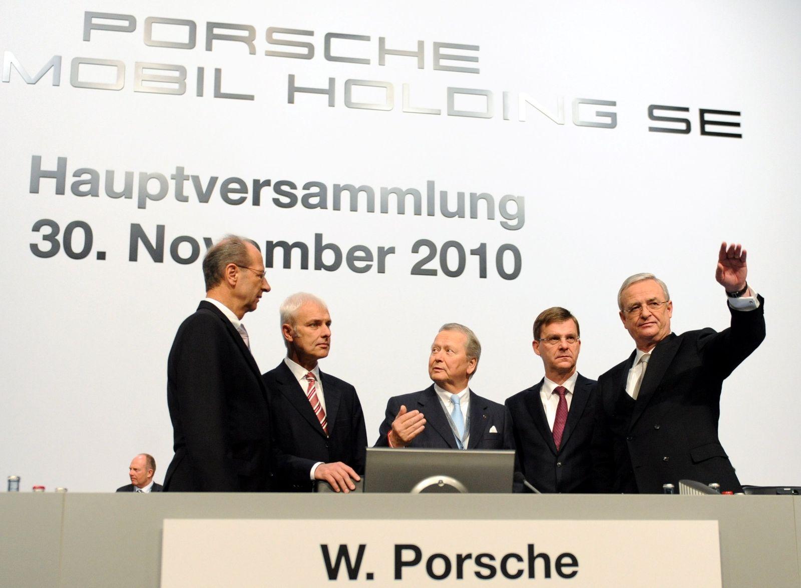 Porsche Hauptversammlung / Gruppenbild