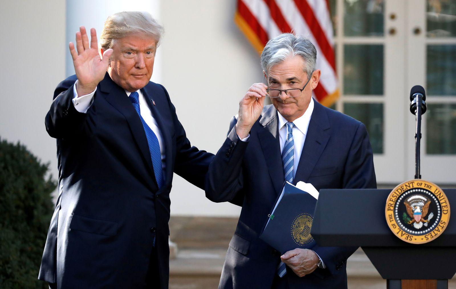 Jerome Powell / Trump / USA-FED/