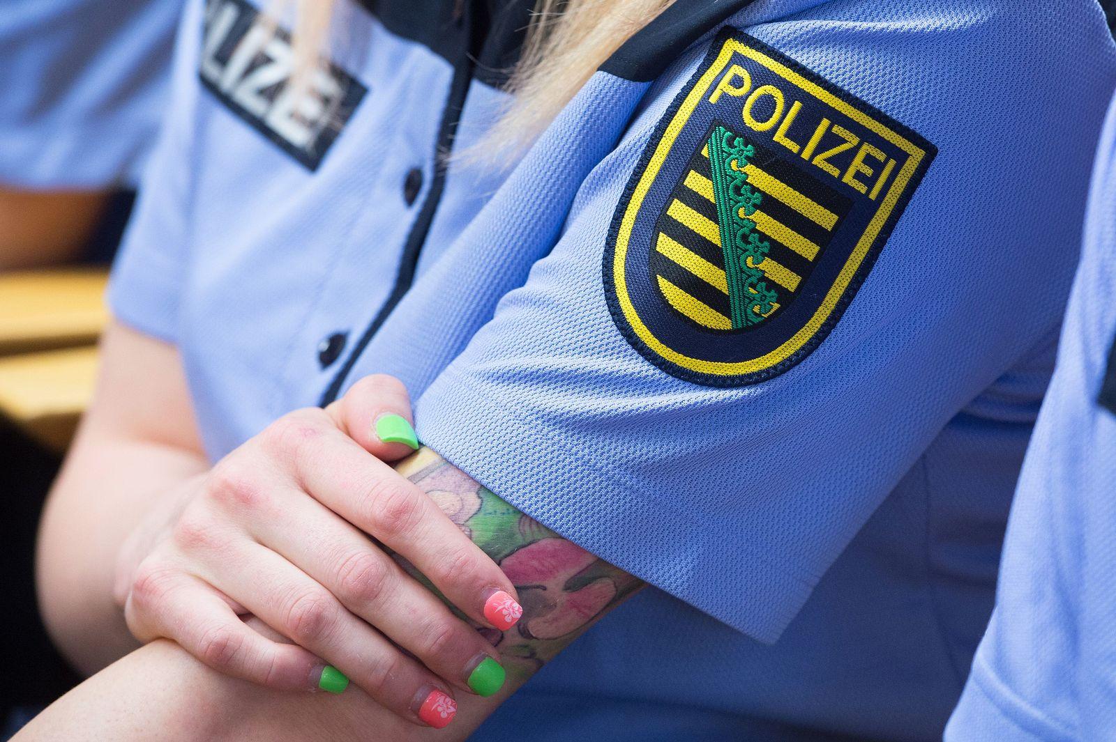 Tätowierungen Polizei