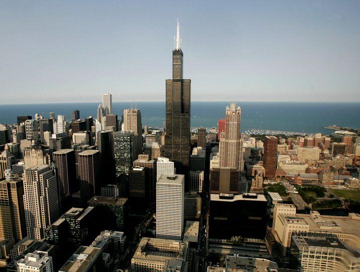 Sears Tower, heute Willis Tower: Symbol für vergängliche Konzernmacht
