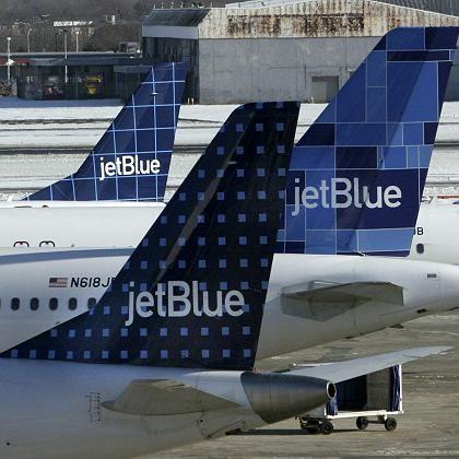 Tochter in Turbulenzen: Flieger der Lufthansa-Beteiligung JetBlue