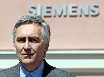 """Neuer Siemens-Chef Löscher: """"Es ist mir eine Ehre, die Führung des Traditionskonzerns zu übernehmen"""""""