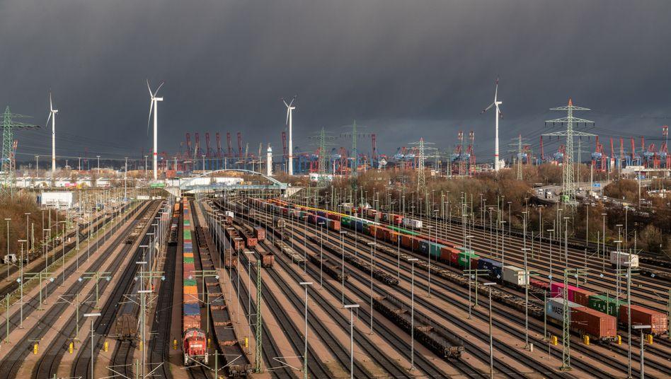 Der Schienengüterverkehr soll wegen der Corona-Krise gefördert werden