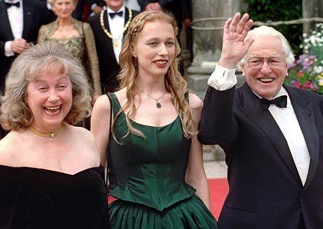 Wagnerianer: Wolfgang, Katharina und Gudrun (von rechts)