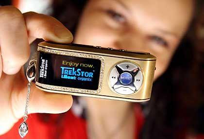 Edelmetall:Der bislang teuerste MP3-Player der Weltkostet 20.000 Dollar
