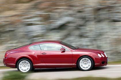 Sprinter: Beim Rasen hört das Understatement auf - 560 PS jagen den Bentley auf über 320 km/h