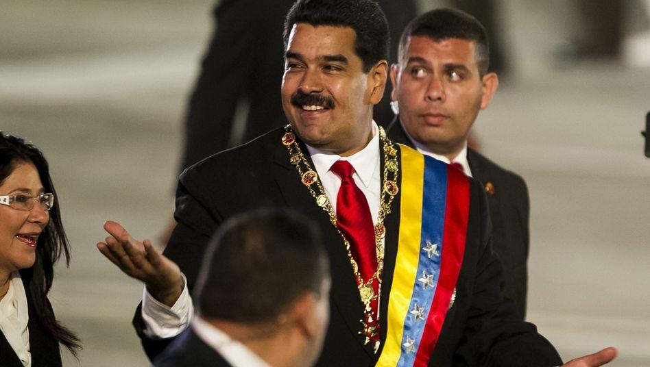 """Venezuelas sozialistischer Staatschef Nicolás Maduro: """"Snowden vor Verfolgung schützen"""""""