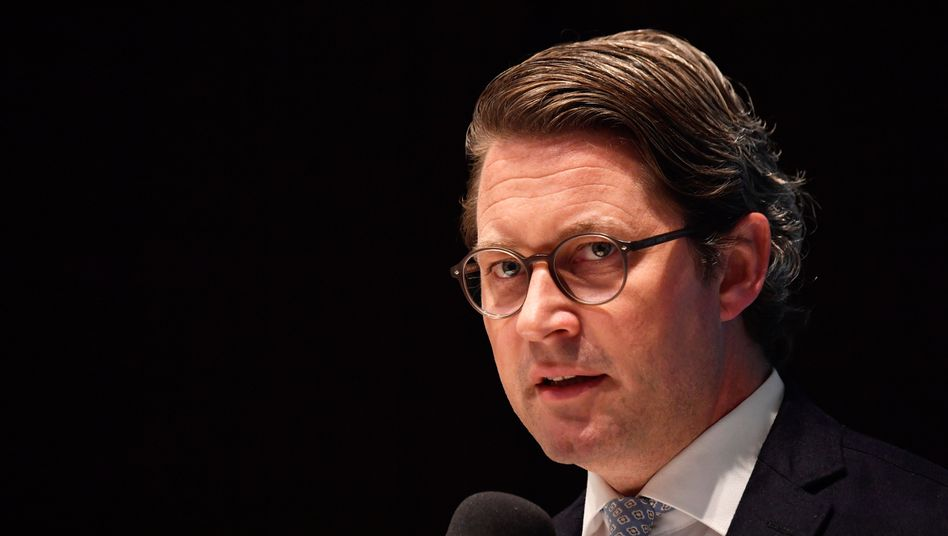 Bundesverkehrsminister Scheuer