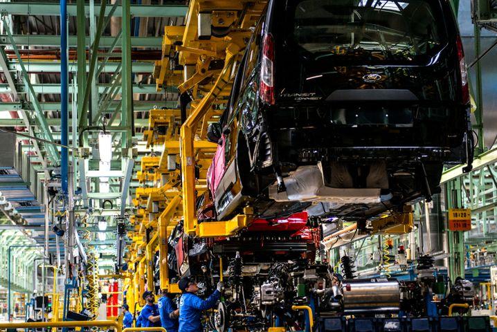 Autoproduktion in Spanien: Ziemlich viel ungenutzte Kapazität