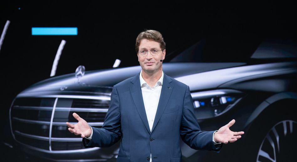 Zurück zu den guten alten Zeiten: Daimler-Chef Ola Källenius blickt optimistisch auf das neue Jahr